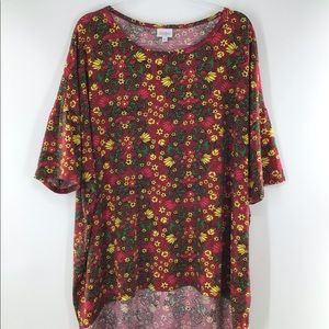 LuLaRoe Simply Comfortable Hi Low Blouse NWOT